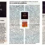 reseñas Sonqoy / diarios Pagina12, Clarín, La Prensa