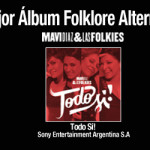"Mavi Díaz & Las Folkies ganadoras ""Mejor Album Folklore Alternativo"" – Premios Gardel 2016"